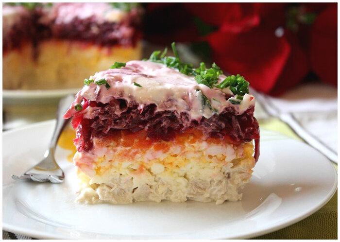салат мой генерал фото рецепт