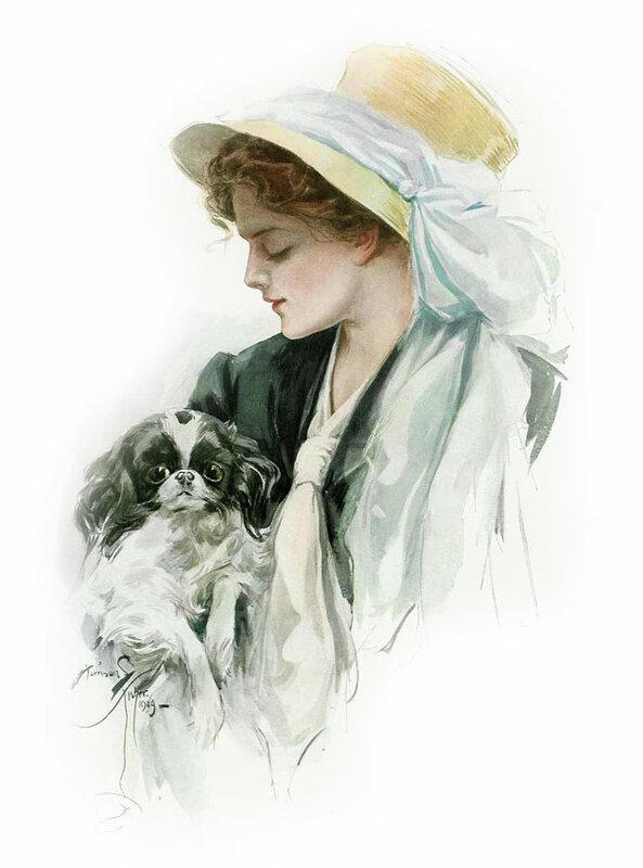 10.  Харрисон Фишер (Harrison Fisher)  1875 - 1934