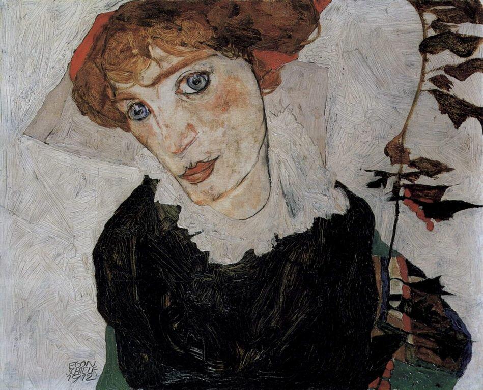 Портрет Валли, 1912_Шиле Эгон (1890-1918)