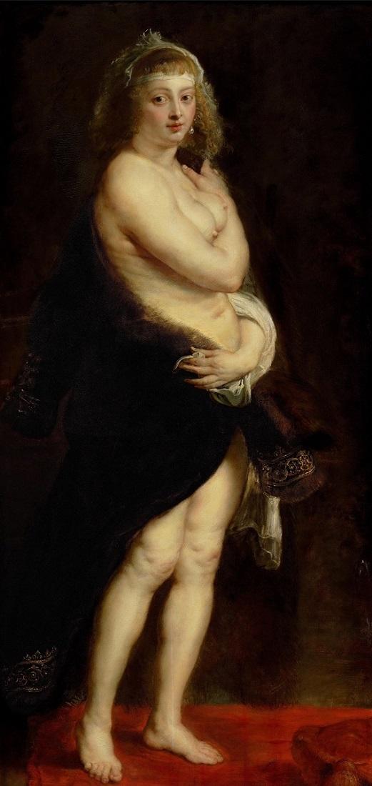 Шубка, Вторая жена художника. 1630-е. Музей истории искусства, Вена Рубенс Питер Пауль (1577-1640)