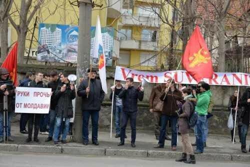 Протест: не все в Молдове желают присоединения к Румынии
