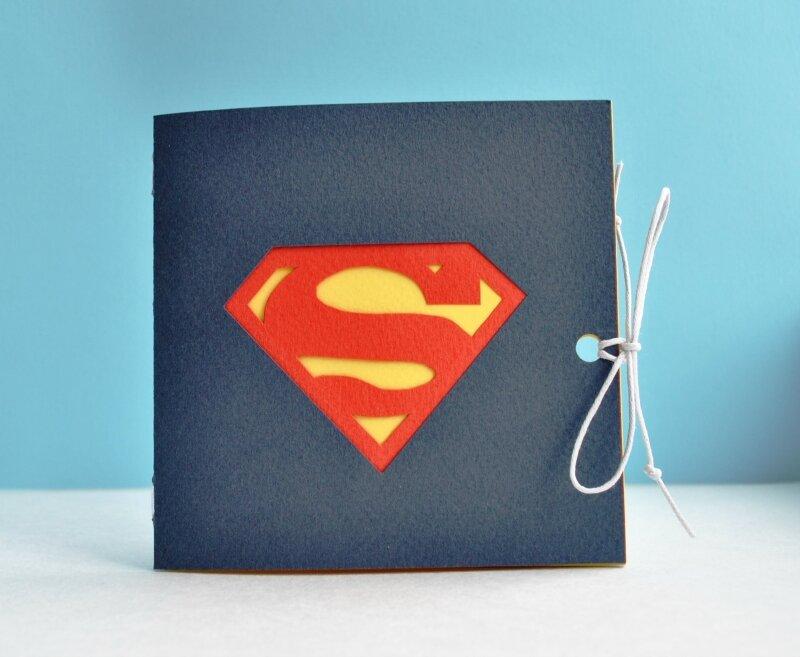 Открытка с суперменом своими руками 53