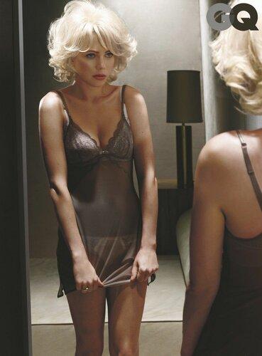Фотографии Мишель Уильямс в роли Мэрлин Монро в журнале GQ