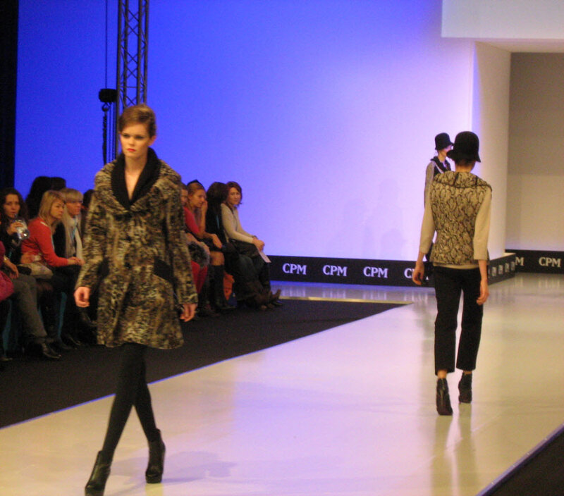 Показ модной женской одежды на CPM 2012