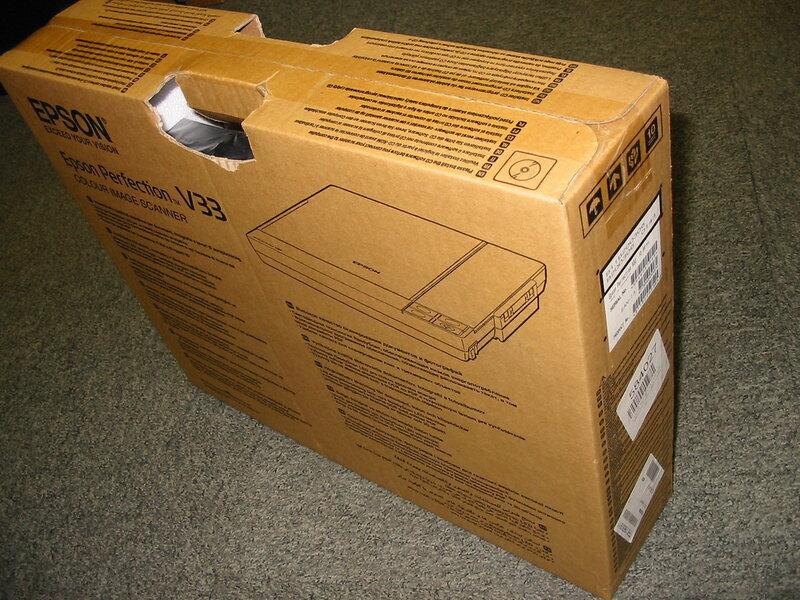 Коробка сканера
