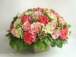 Букет цветов из полимерной глины