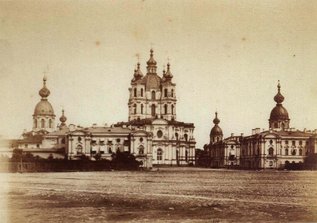 Смольный монастырь. 1880-е