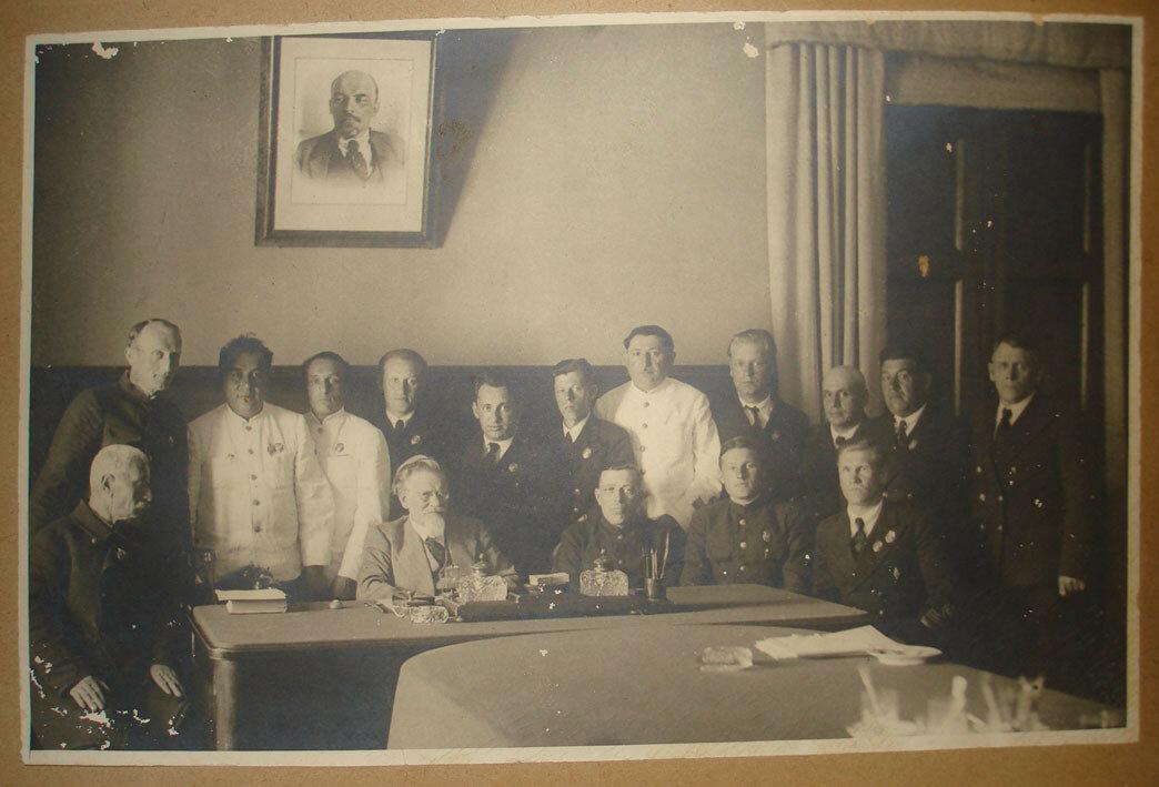 1941. Москва. Кремль. Калинин с руководителями ОСВОДа