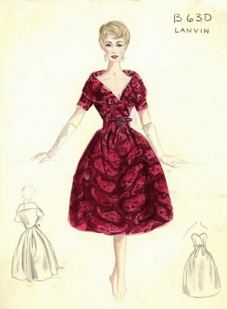 da36af8ef44 Вечерние и коктейльные платья от нью-йоркского универмага Bergdorf Goodman.