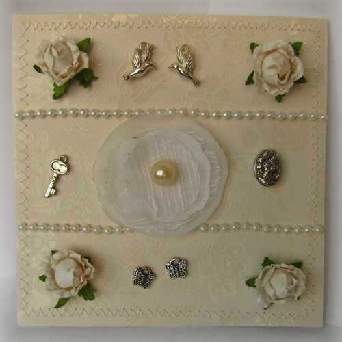 Первая свадебная открытк