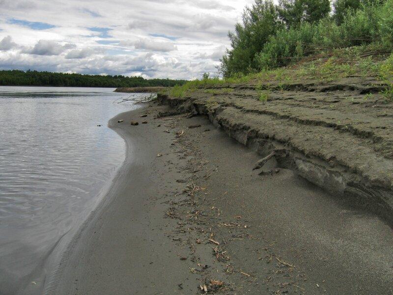 Берег Камчатка-реки