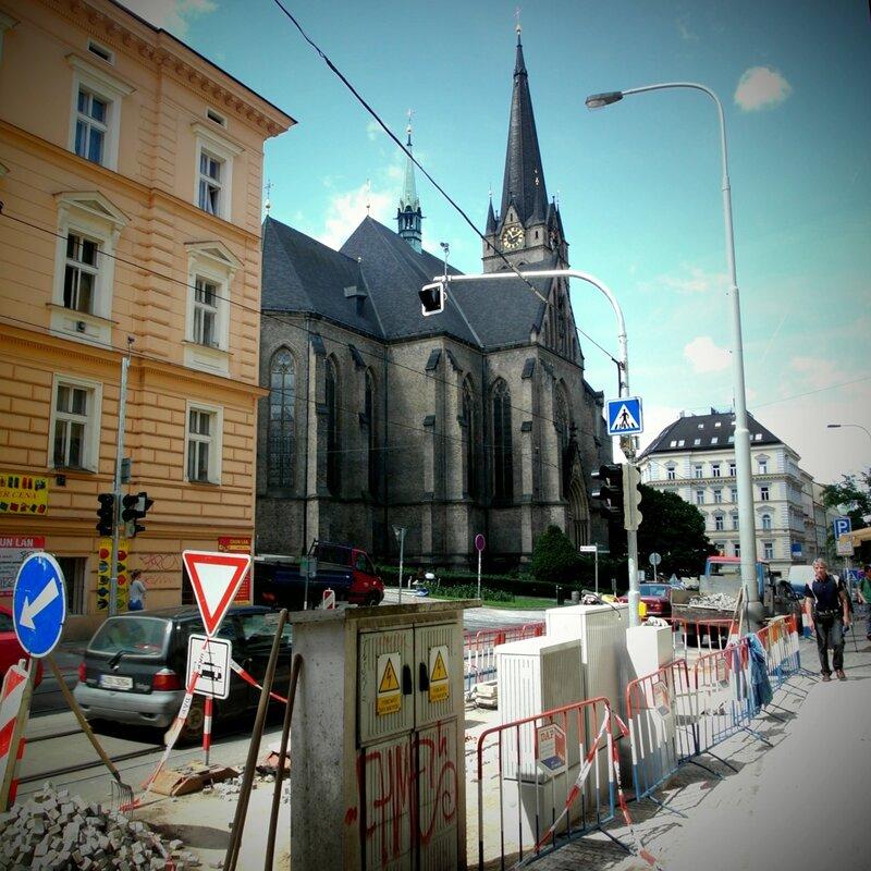 фотографии улиц европейского города