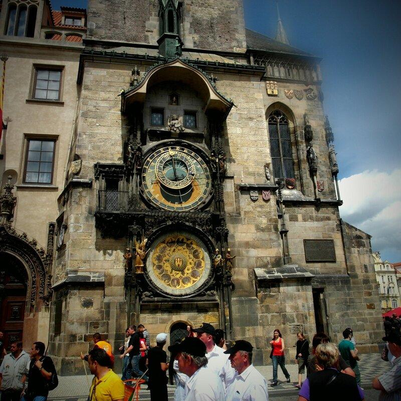 семья фотографа в Праге