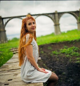 У моста день, мост, 120, Киев 60, портрет