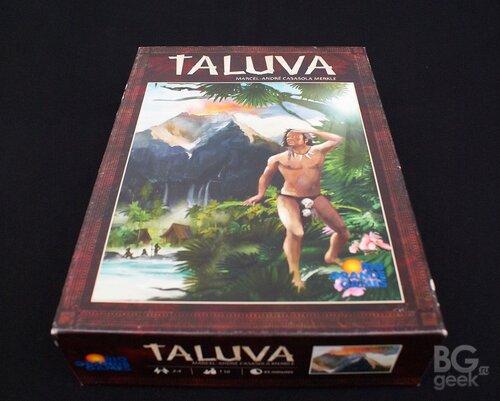 настольная игра Талува / Taluva