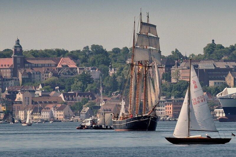 Морской праздник в г. Фленсбург, Германия.