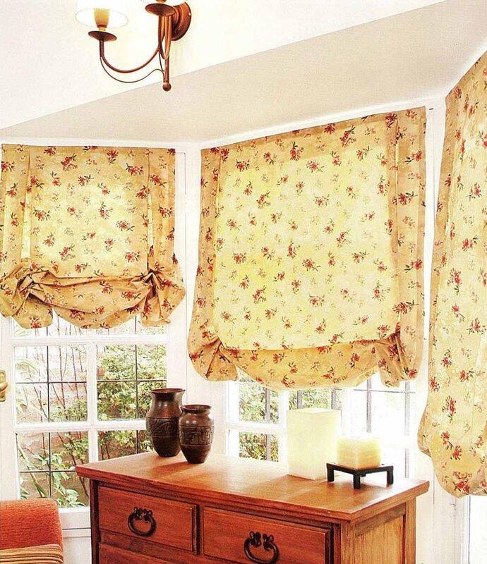 Как сшить шторы с ламбрекенами своими руками выкройки - Выкройка