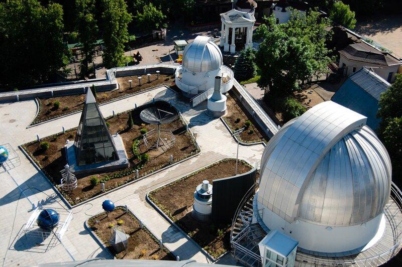 Виды с крыши Московского Планетария