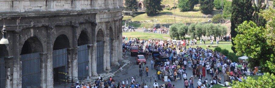 Очередь в Колизей