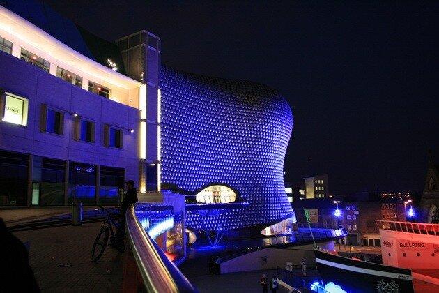 Торговый комплекс Bullring в Бирмингеме