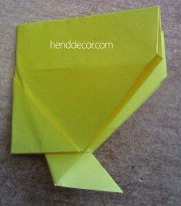 271Упаковка для подарка  оригами