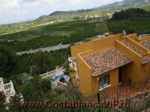 вилла в Monte Corona, вилла в Монте Корона, вилла в Испании, недвижимость в Испании, Коста Бланка, CostablancaVIP