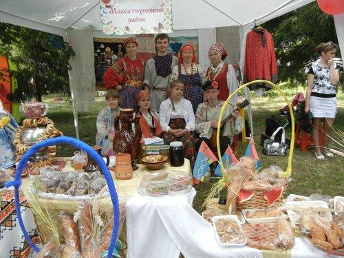 Команда Максатихинского района приняла участие в фестивале «Купеческий караван»