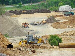 В Находке завершаются земельные работы на строительстве нового участка объездной дороги