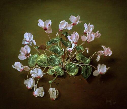 【引用】超仿真油画花卉{2) - 秋林红叶 - 秋林红叶