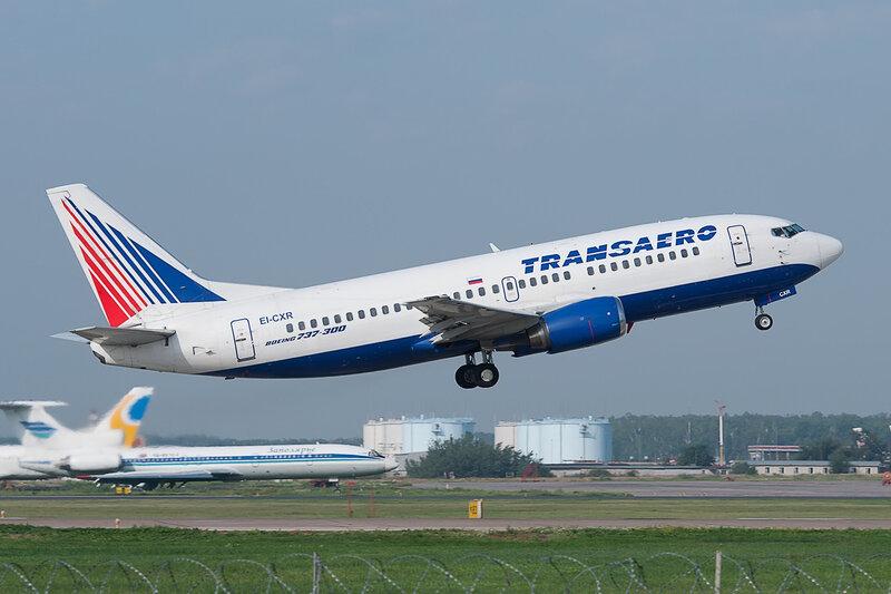 Boeing 737-329 (EI-CXR) Трансаэро DSC2776