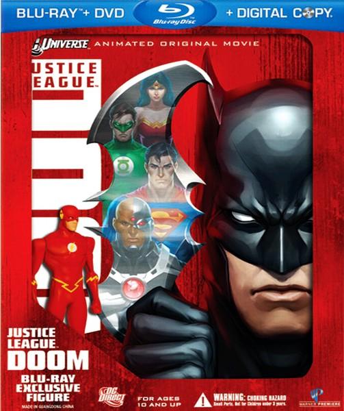 Лига Справедливости: Гибель / Justice League: Doom (2012) HDRip