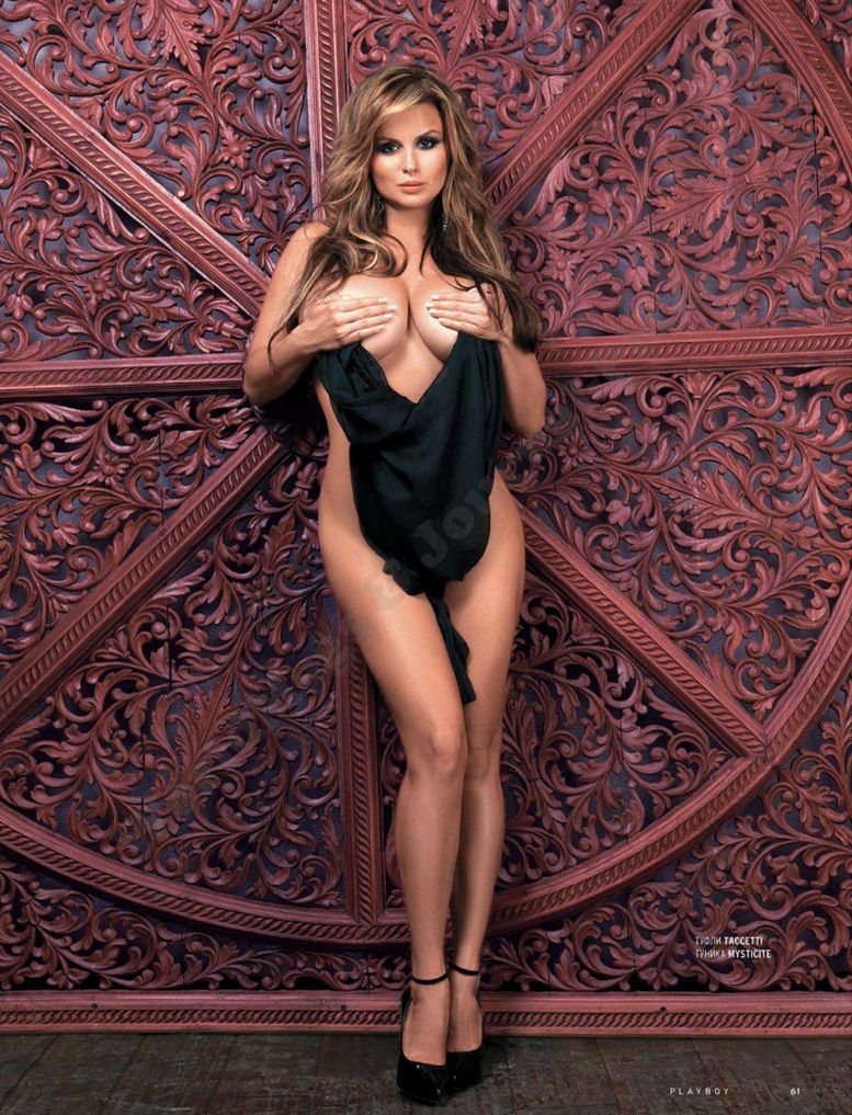 Анна Семенович в Playboy Россия, апрель 2012