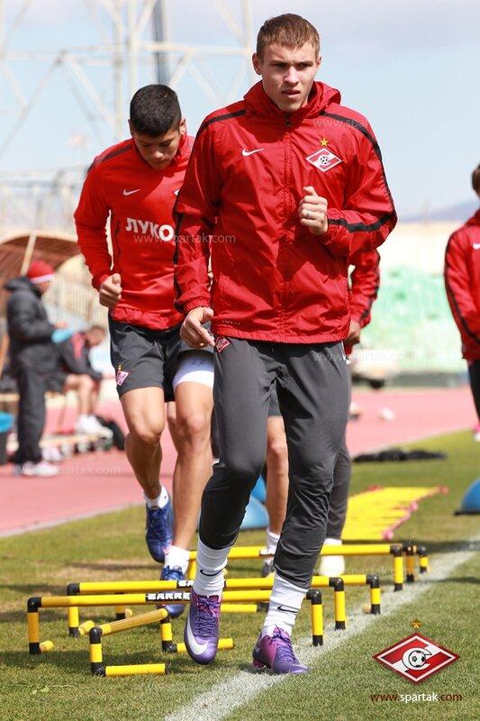 Заключительная  тренировка «Спартака» в Никосии (Фото)