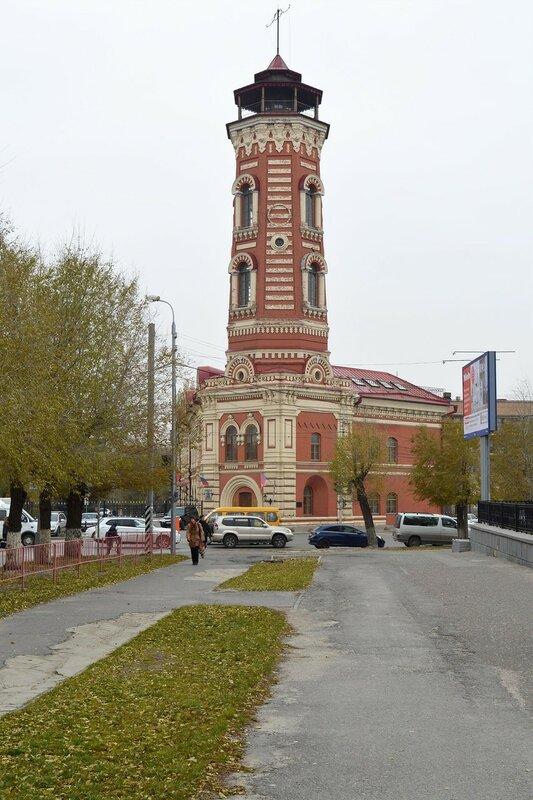 Памятник архитектуры - здание Царицынской пожарной команды.