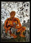 Prometheus, Menschen formend, 1988.JPG