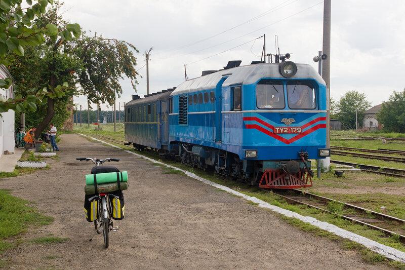Поезд на станции Голованевск