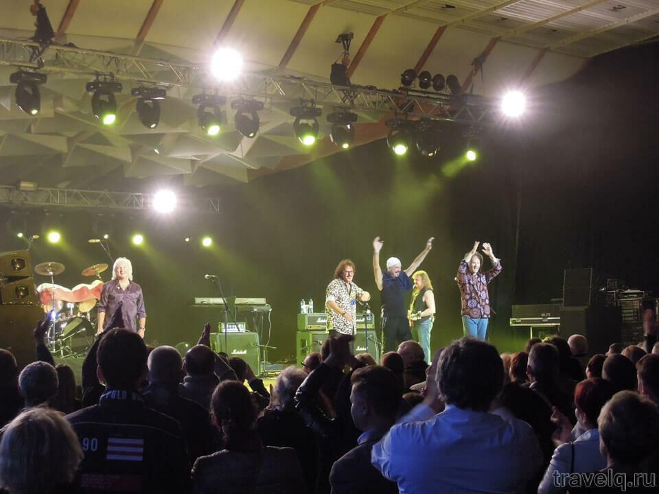 Концерт Smokie в Дзинтари