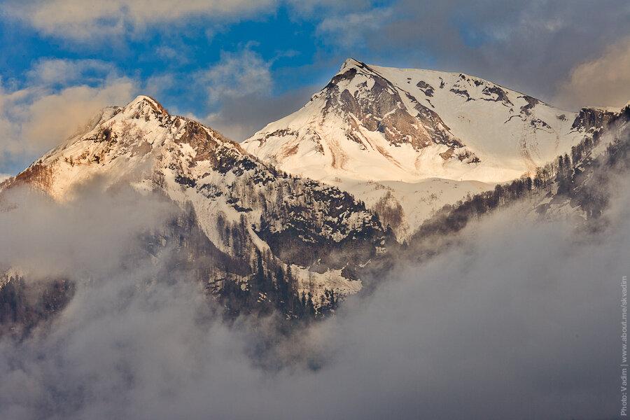 Горы кавказ / Caucasus mountains