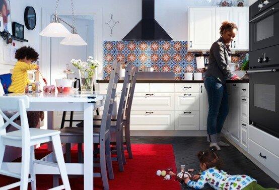 кухни икеа - мебель и аксессуары (фото.