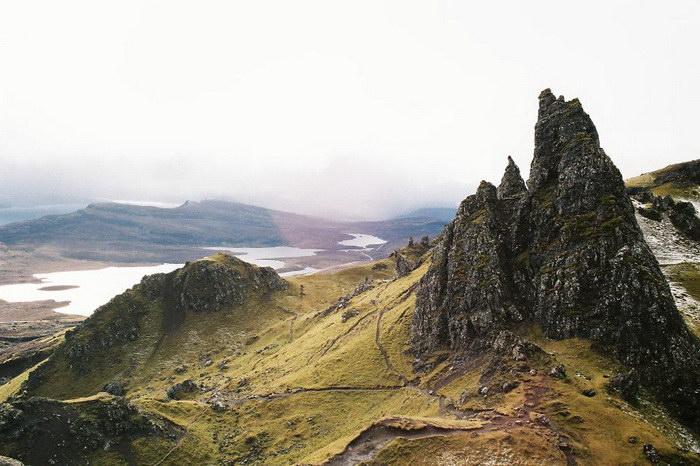 Красоты северной страны Шотландии… Пленочные фотографии Данка и Питер (Danka & Peter)