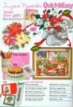 Журнал Quick & Easy Cross Stitch № 146 2006.12