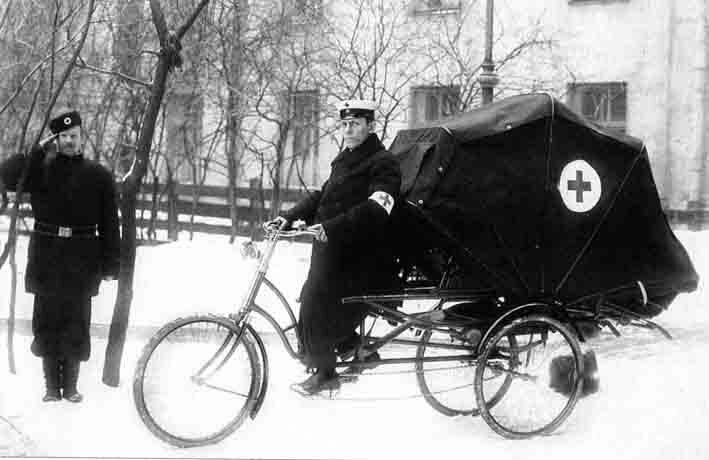 Карета Скорой помощи, 1900 год