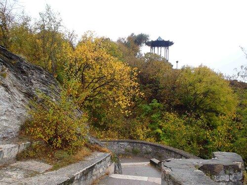 на склонах горы Горячей