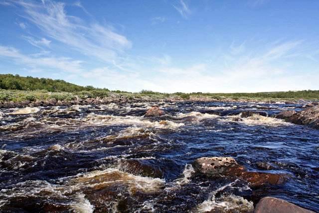 Сплав по рекам Йоканга и Пуйва