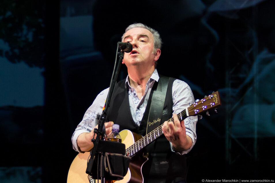 Владимир Шахрин. Концерт Чайф, Саранск, 16 апреля 2015 года