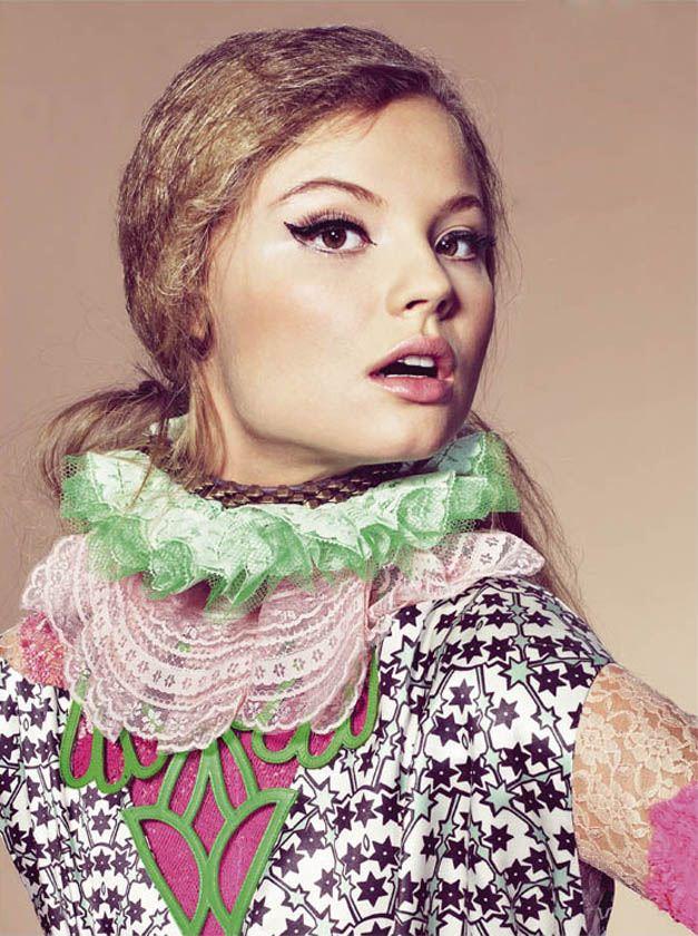 модель Магдалена Фраковяк / Magdalena Frackowiak, фотограф Richard Burbridge