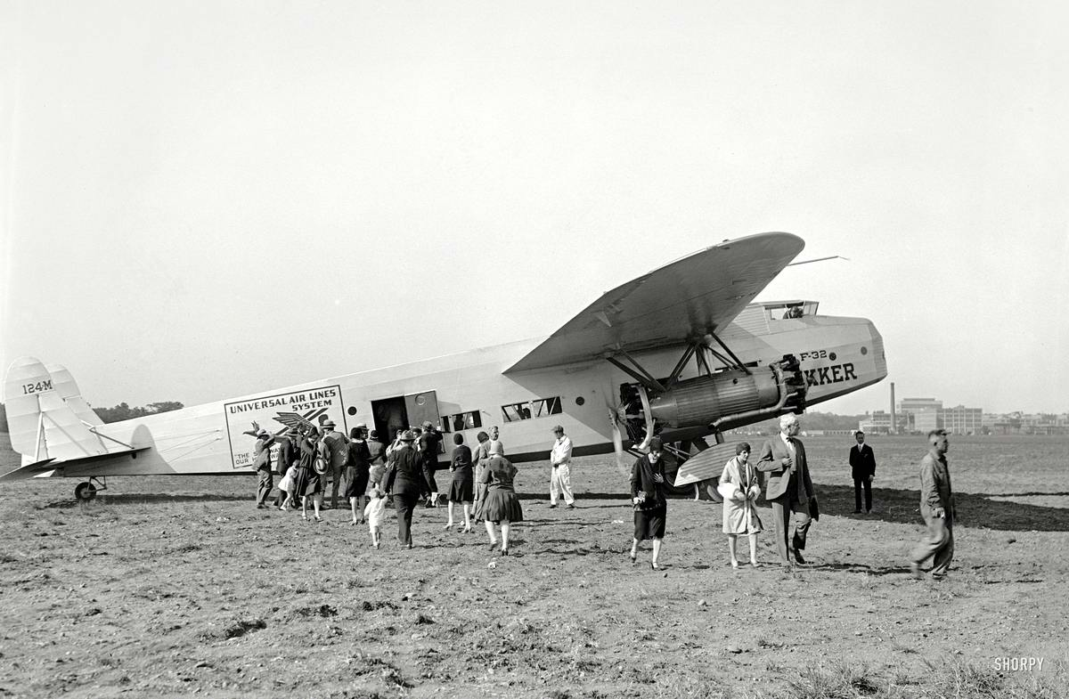 Самолеты и пилоты начала 20-го века на снимках американских фотографов (35)