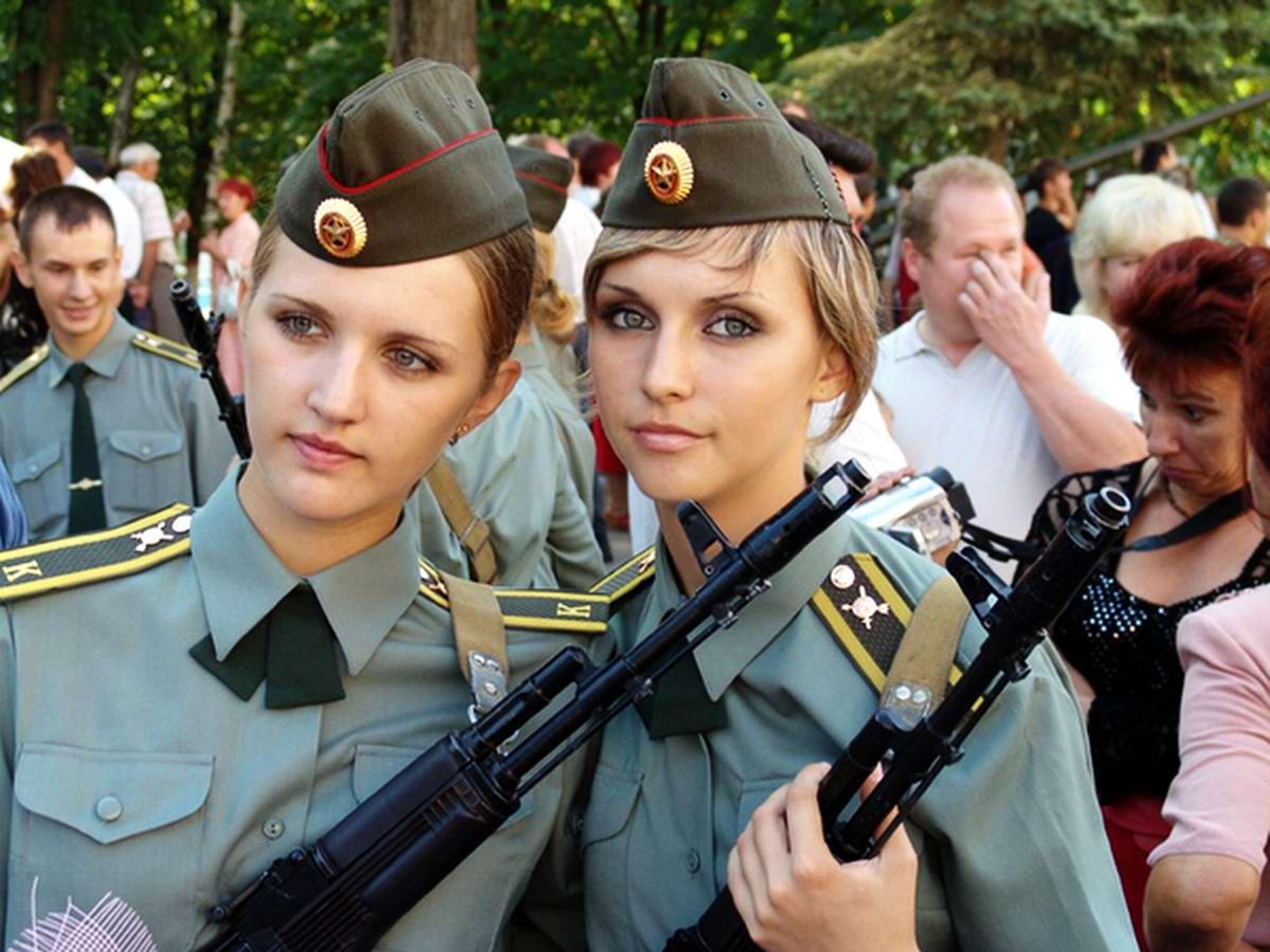 От тайги до британских морей ... : Лица девушек из Российской армии (22)