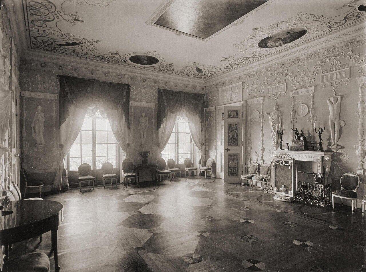 Зеленая столовая в Екатерининском дворце