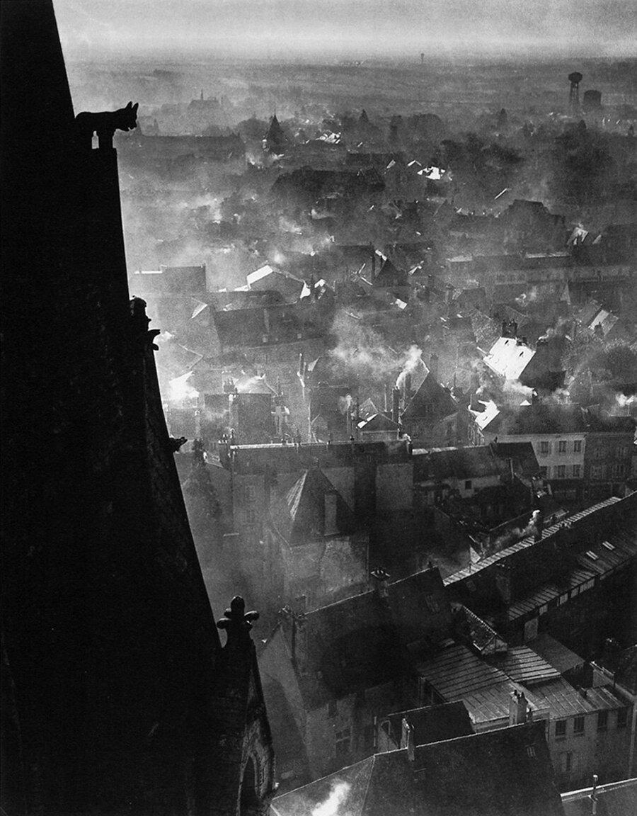 1946. Шартр зимой